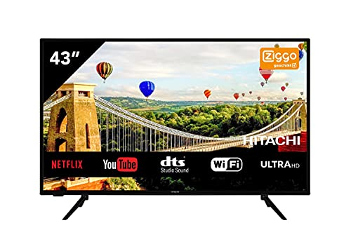Tv hitachi 43pulgadas led 4k uhd [Classe di efficienza energetica A]