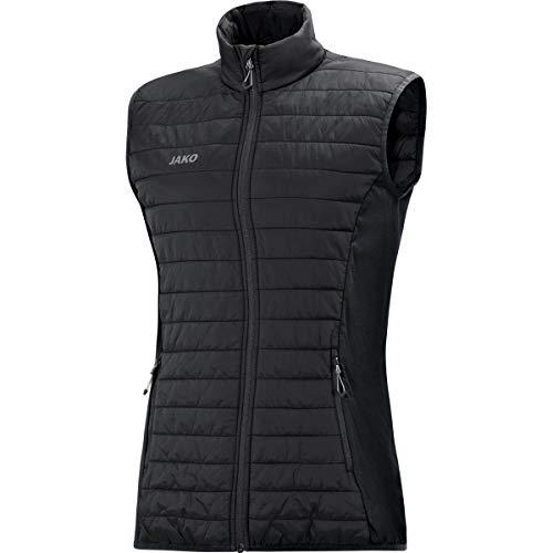 JAKO Damen Sonstige Jacke Steppweste Premium, schwarz, 40, 7005