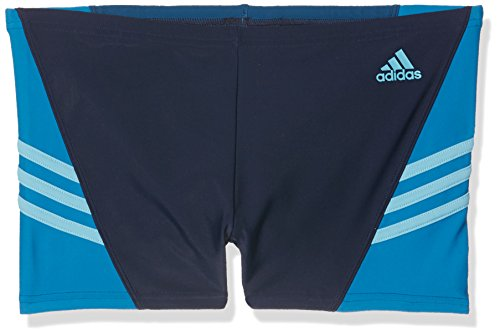 adidas Jungen Inspiration Boxer-Badehose, Collegiate Navy/Unity Blue/Tech Steel, 164