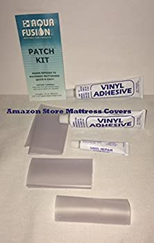 Aqua Fusion Three Vinyl Repair Patch Kits for Waterbed mattresses Air beds Inflatable Toys Rafts Inflatable Pool Seats Beach Balls Pool Covers Boat Liners Spa Covers & Most Vinyl Products