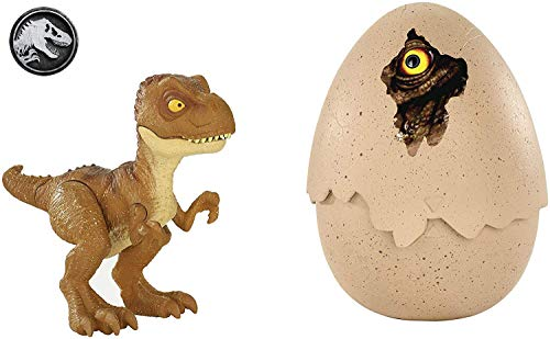 JURASSIC WORLD HATCH 'N PLAY DINOS...