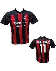 DND Di Andolfo Ciro fotbollstrikot Zlatan Ibrahimovic 21 Milano licensersering 2019–2020 storlekar för barn och vuxna