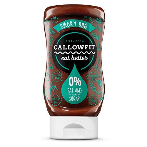 Callowfit Low Carb Sauce 0% Fat & Zucker - Diätsoße (Smoky BBQ)