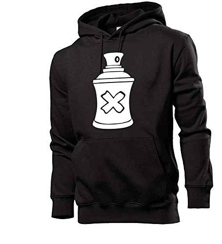 Shirt84.de - Sudadera con capucha para hombre Negro L
