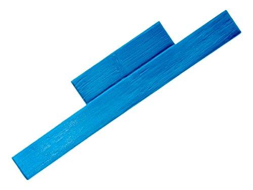 Weatherwood Plank Concrete Stamp Single by Walttools | Realistic Hardwood Slabs, Sturdy Polyurethane Texturing Mat, Decorative Lumber Detail (Floppy, 11' x 4')