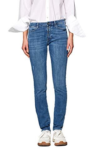 ESPRIT Damen 998CC1B829 Slim Jeans, 902/BLUE MEDIUM WASH, 26W / 30L