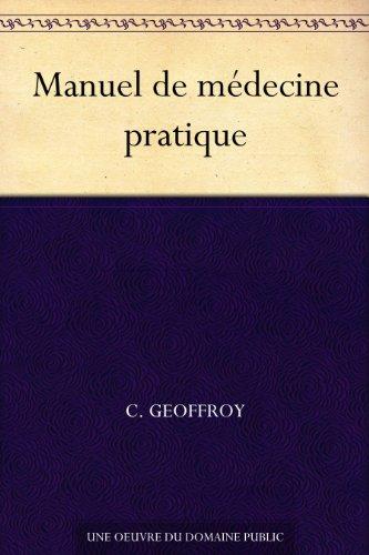 Couverture du livre Manuel de médecine pratique