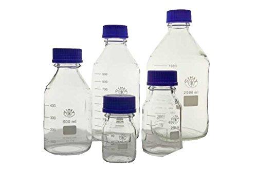 Simax 2070/500 reagens glazen fles, 500 ml (Pack van 10)