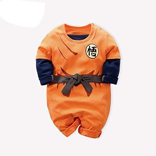 Mamelucos para Bebs, Ropa para Bebs Recin Nacidos, Mono De Anime para Nios Pequeos, Ropa para Bebs Y Nias, Disfraz De Halloween-Son Goku_12M