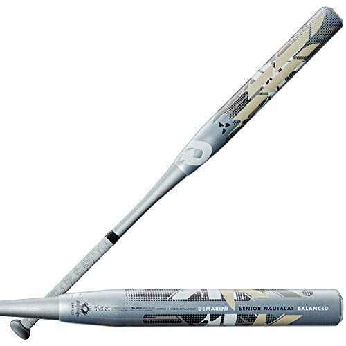 Demarini 2021 Senior Nautalai Balanced Slowpitch Softball Bat - 34  26 oz
