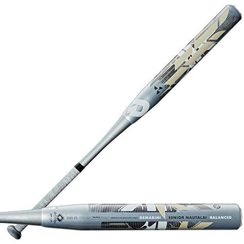 Demarini 2021 Senior Nautalai Balanced Slowpitch Softball Bat - 34'/25 oz