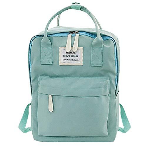 Damen Rucksack Handtaschen Weant Mode Vintage Canvas Schultaschen Anti-Diebstahl Tagesrucksack Rucksack für Uni Reisen Freizeit Job mit Laptopfach & Anti Diebstahl Tasche