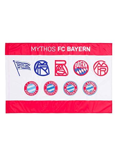 FC Bayern München Fahne Logo Historie 150x100cm