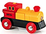 BRIO World Two Way Battery Powered Engine for Kids Age 3 Years and Up, Compatible with all BRIO Train Sets