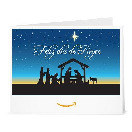 Cheque Regalo de Amazon.es - Imprimir - Feliz Día de Reyes