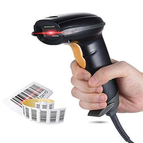 T-XYD USB Scanner de Poche 1D Codes Barres Lecteur Supermarket/Bibliothèque/Courier Société/Retail Store/Entrepôt