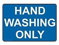 アクティビティサインキャンプ場サインパークサインインチ、イングリッシュブルーの手洗い、パークサインパークガイド警告サイン私有財産の金属屋外危険サイン