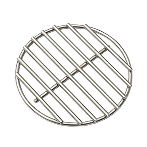 KAMaster 17' BBQ High Heat Stainless Steel Charcoal Fire Grate Fits for XL Big Green Egg Fire Grate...