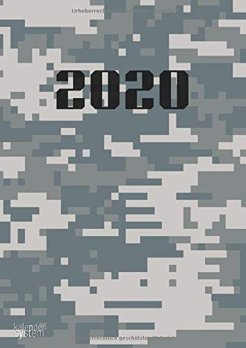 Kalender System 2020: 3 in 1 - Wochenkalender 2020 I Montaskalender 2020 I Jahreskalender 2020 I 90 Seiten Din A4 Terminkalender I Für Urlaub Ferien ... abstraktes Design in verschiedenen Farben.