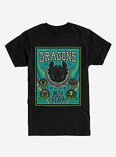 HOW TO TRAIN DRAGONS ヒックとドラゴン トゥースレス ドラゴン Tシャツ [並行輸入品]