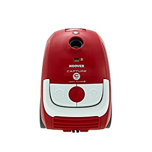 Hoover Capture Cylinder Vacuum Cleaner, 2.3 L 700 W – Red and White