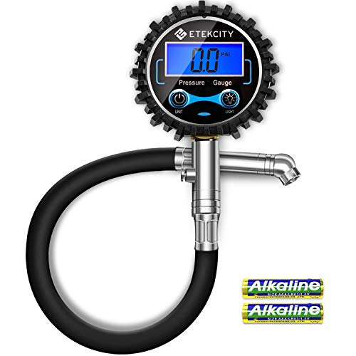 Renewed AstroAI ATG230 Digital Tire Pressure Gauge 230 PSI RV Heavy Duty Dual Head Stainless Steel Made for Truck Car with Larger Backlit LCD