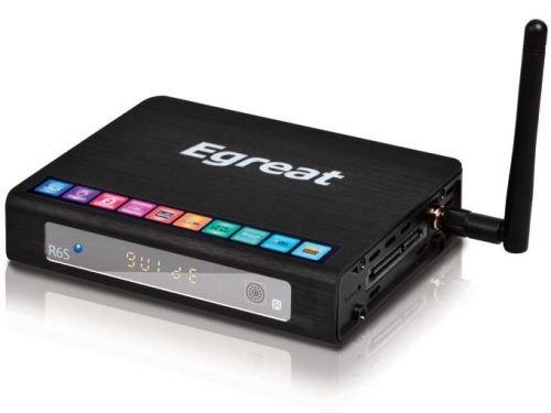 Egreat R6S Pro - Reproductor multimedia 3D con Android, navegador de Internet, mediateca, USB 3.0, Wi-Fi (aplicaciones de Smart TV, Dolby True HD, DTS HD, Blu-Ray, 3D ISO, HDMI 1.4): Amazon.es: Electrónica