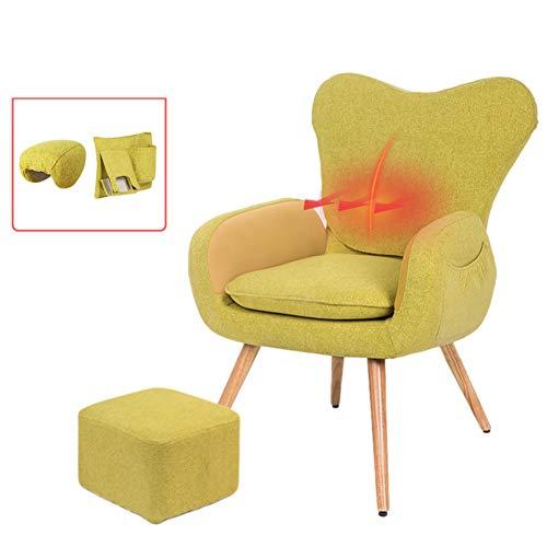 Baby GOUO@ Chaleur Massage Chaise d'allaitement Chaise d'allaitement Canapé d'alimentation Paresseux Doublé à la Taille Simple Fauteuil d'allaitement Moderne
