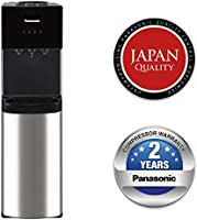 Panasonic Top Loading Water Dispenser, SDM-WD3238TG, Black/ Stainless Steel Finish, 20L Cabinet Storage, Best for Home...
