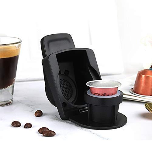 Adaptador de conversión de cápsulas de café para Nespresso compatible con Dolce Gusto - adaptador de cápsulas de café...