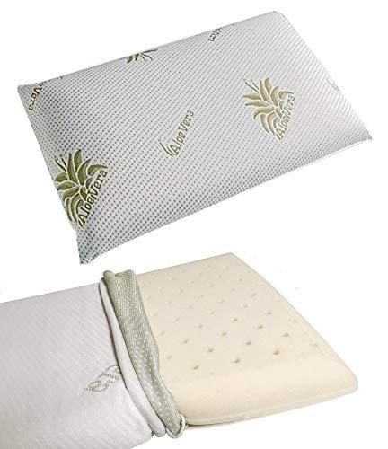 Cuscino Per Bambino Memory Foam 100% Lavabile Antisoffoco Per Culla E Lettino Baby (BIMBO 35X50X5.5 CM)