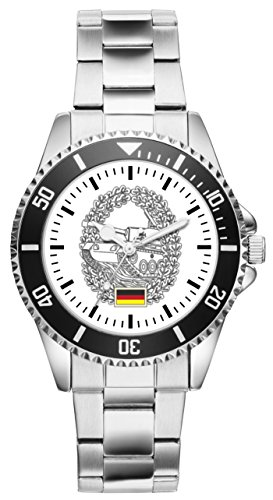 Soldat Geschenk Artikel Bundeswehr Panzertruppe Uhr 1148