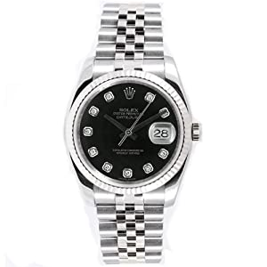 Rolex Mens New Style Heavy Band Stainless Steel Datejust Model 116234 Jubilee... Review and Buy NOW!!! and review image