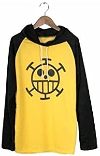 One Piece Trafalgar Law Style T-Shirt Size M Costume Cosplay