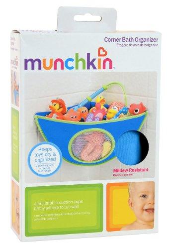 Munchkin Corner Bath Organizer - Blue by Munchkin