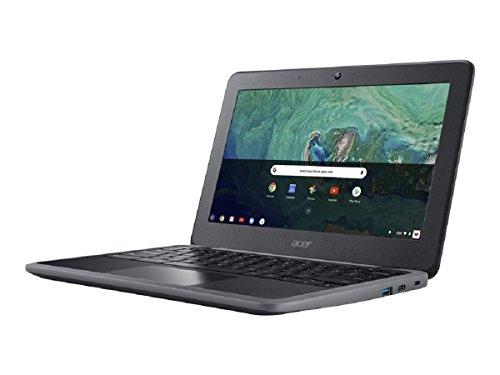 Acer Chromebook 11 C732 - Ordenador portátil (1,1 GHz, 29,5 cm (11.6') 1366 x 768 Pixeles, 4 GB, 32 GB, Chrome OS) Negro/Gris