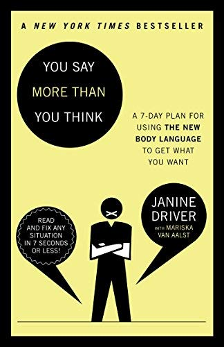 Image Of(You Say More Than You Think: The 7-Day Plan For Using The New Body Language To Get What You Want)] Author: Janine Drive...