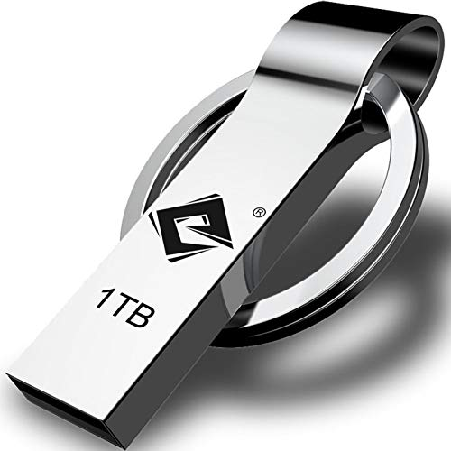 USB Flash Drive 1TB, Thumb Drive: High Speed USB Drive, Portable Large Storage USB Memory Stick, Waterproof Durable Jump Drive with Keychain