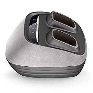 AICNTECH Intelligent Foot Massager Machine with Heat, Shiatsu Foot Massager, Four in One with Kneading, Full Foot…