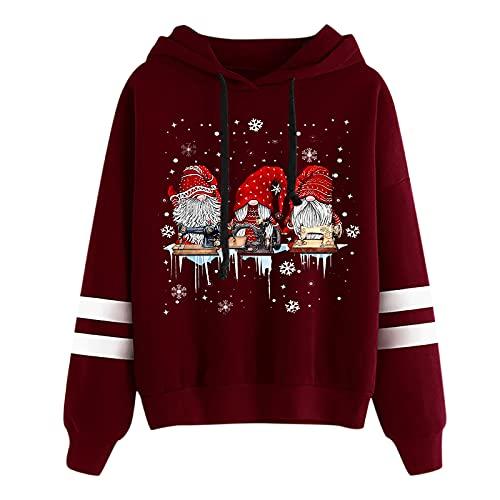 Herbst Klamotten Damen Weihnachtspullover Harry Potter Damen Damen t-Shirt asymmetrisches Oberteil Damen tie dye Sweatshirt Damen Hemd elegant Frauen Pullover sexy schöne Pullover Damen