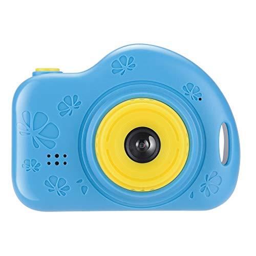 Winkey Kinderkamera Digitale Videokamera Geschenk Mini Ladekamera Kreative Videokamera HD Edition Elektronik (Blau)
