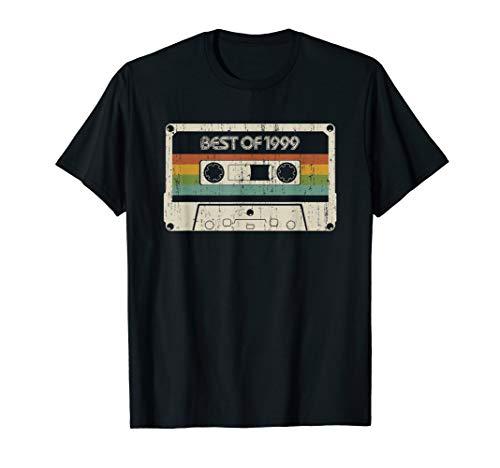 Vintage Best of 1999 20th Birthday Cassette T-Shirt