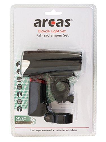 Arcas 30730004 lámpara LED para Bicicleta (2 Unidades, Incl