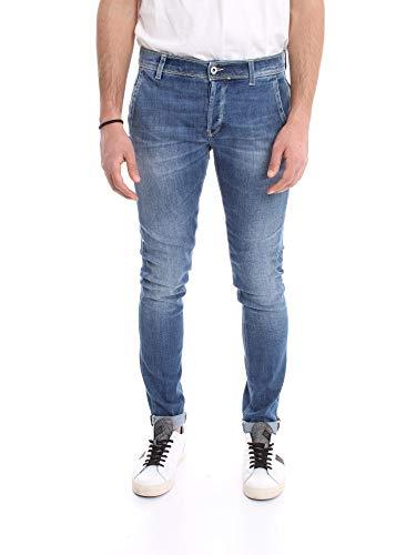 DONDUP UP439 DS0268 Jeans Uomo Blu Medio 31