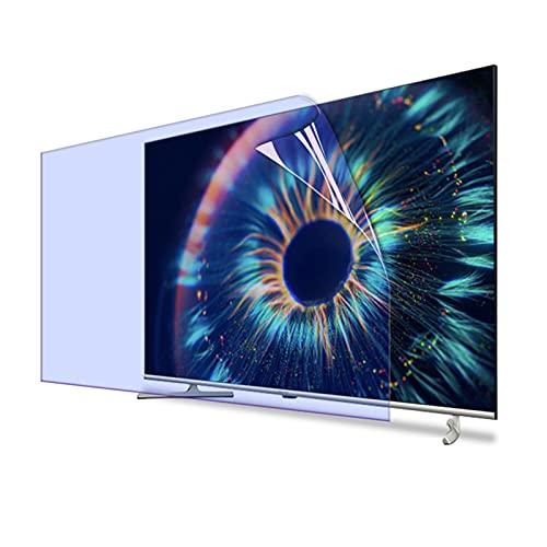 Protector de Pantalla, Alivia La Fatiga Ocular, Antiarañazos Fácil de Limpiar, para LCD, LED, 4K OLED QLED y Pantalla Curva (Color : HD Version, Size : 50 Inch 1101X620mm)