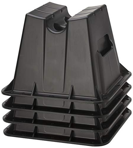 Attwood Brunswick Pontoon Storage Block Set ATTWOOD CORP, Black, One Size