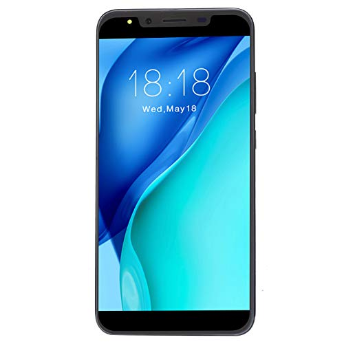 Teléfono Android, M30PLUS 5.72in 3G Desbloqueado Teléfono móvil con Cubierta Abierta con batería de 1800mAh para Sistema Android OS 4.4(Negro)