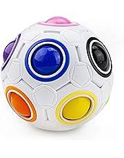 Magic Rainbow Ball, Welltop 3D Ball Puzzle Speed Cube Educatief speelgoed Rainbow Puzzle Ball Stress Relief voor Kinderen en Volwassenen