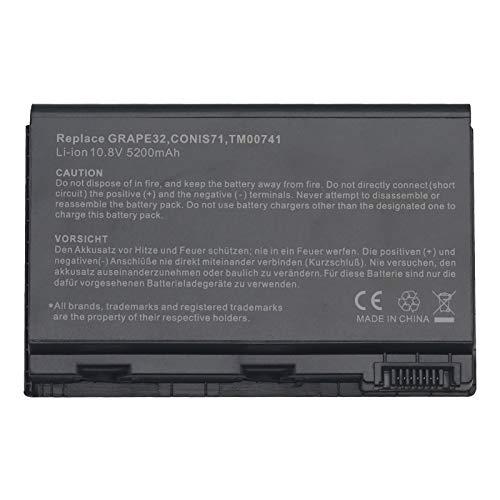 BTMKS GRAPE32 - Batería para portátil Acer Extensa 5100 5210 5220 5230 5230E 5320 5420 5430 5610 5620 5620G 5620Z 5630 5630EZ 5630G Z 7220. Batería 7620 GRAPE42 TM00741 TM00751 CONIS71 CONIS41
