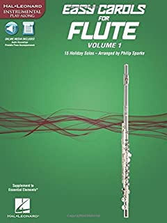 Easy Carols for Flute, Vol. 1: Supplement to Essential Elements (Hal Leonard Instrumental Play-along)